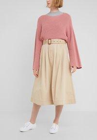 Polo Ralph Lauren - PIECE  - A-line skirt - classic tan - 0