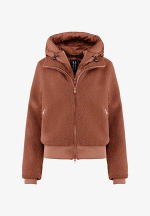 Light jacket - copper brown