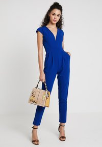 WAL G. - SHORT SLEEVE V NECK - Jumpsuit - blue - 1