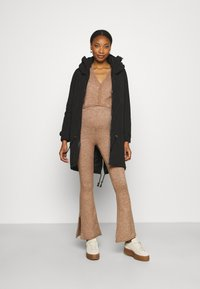 MAMALICIOUS - MLTIKKA PADDED JACKET - Winter coat - black - 1