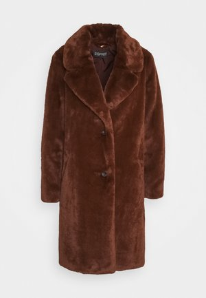 Winter coat - rust brown
