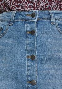 JDY - JDYTYSON LIFE  - Denim skirt - light blue - 3