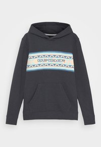 Quiksilver - SUMMER HOOD YOUTH - Sweatshirt - india ink - 0