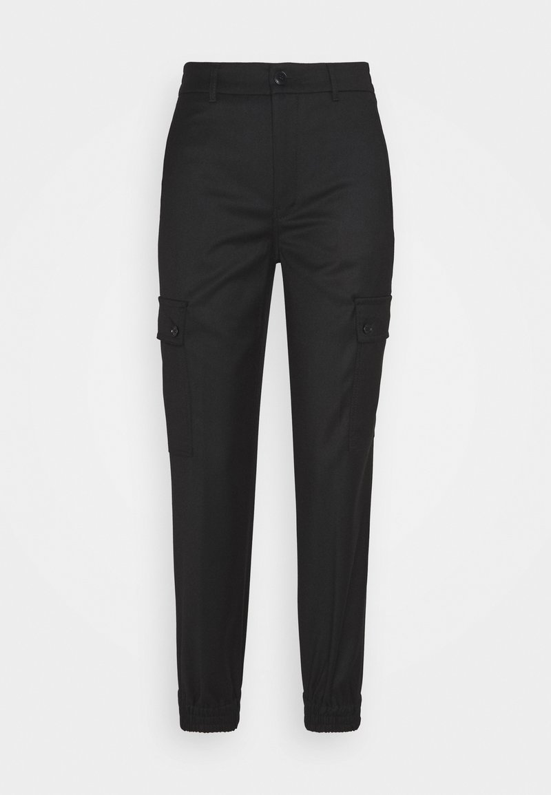 DRYKORN - FREIGHT - Cargo trousers - schwarz
