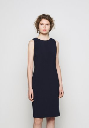 BONDED DRESS - Shift dress - lighthouse navy