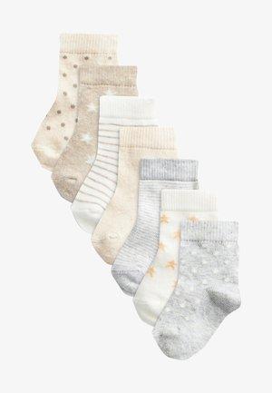 7 PACK - Socks - off-white