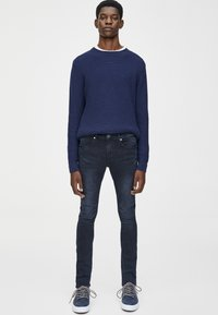 PULL&BEAR - Jeans Skinny Fit - dark blue denim - 1