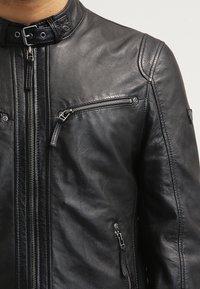 Gipsy - COBY - Leather jacket - schwarz - 3
