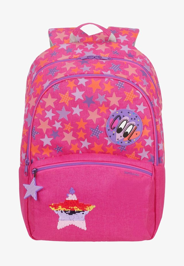 COLOR FUNTIME  - School bag - mottled pink