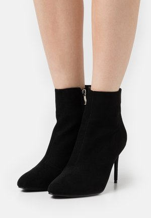 ALMATY - High heeled ankle boots - black