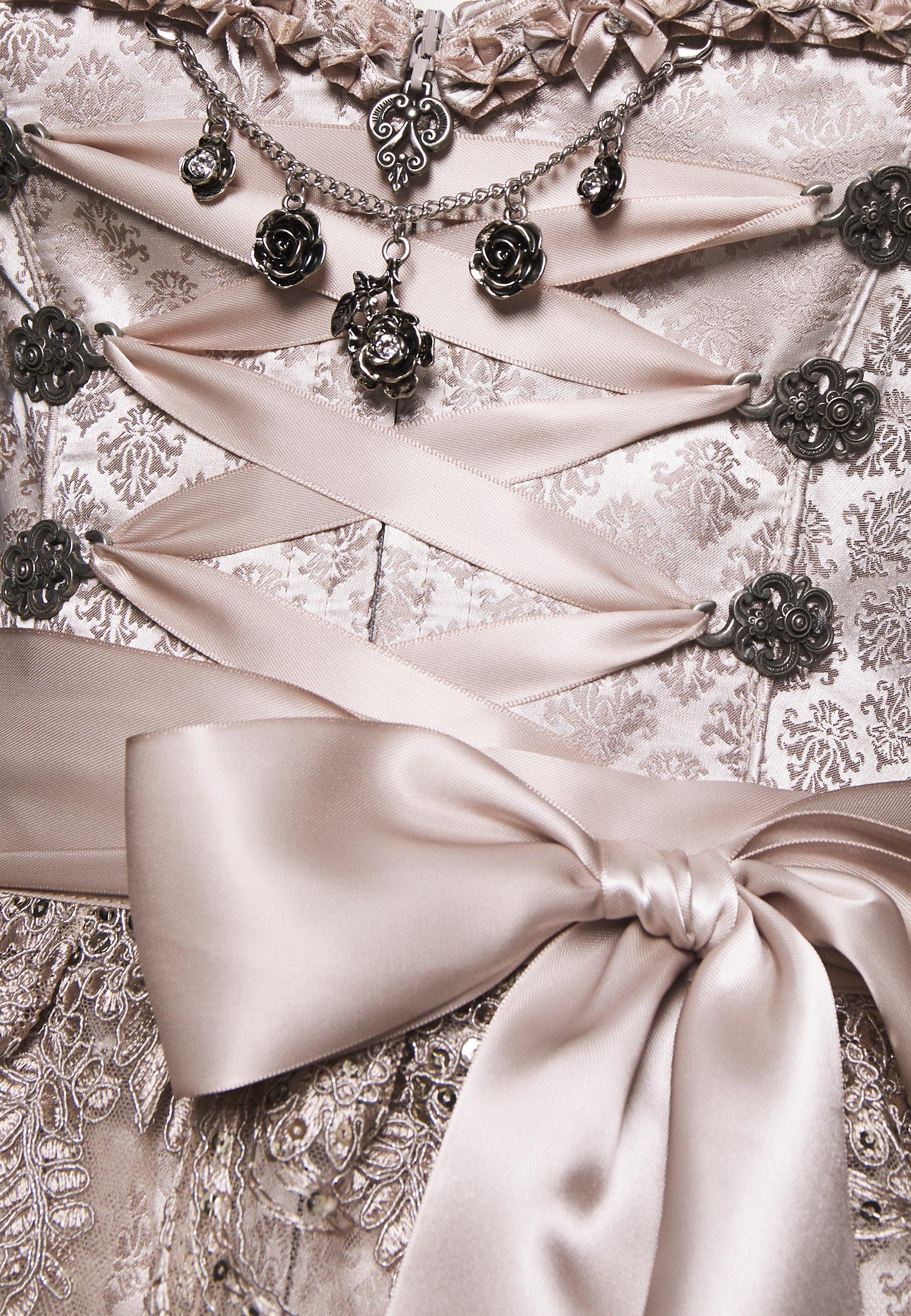 Marjo ENGELINE Dirndl champagner/gold