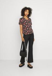 Vila - VICARE - Button-down blouse - black - 1
