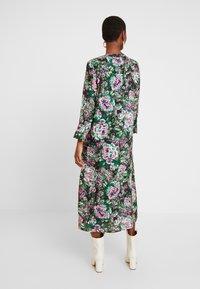 Rich & Royal - DRESS WITH PIN TUCKS - Denní šaty - multi-coloured/black/neon pink - 3