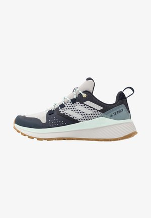 TERREX FOLGIAN HIKER - Trekingové boty - legend ink/light solid grey/dash green