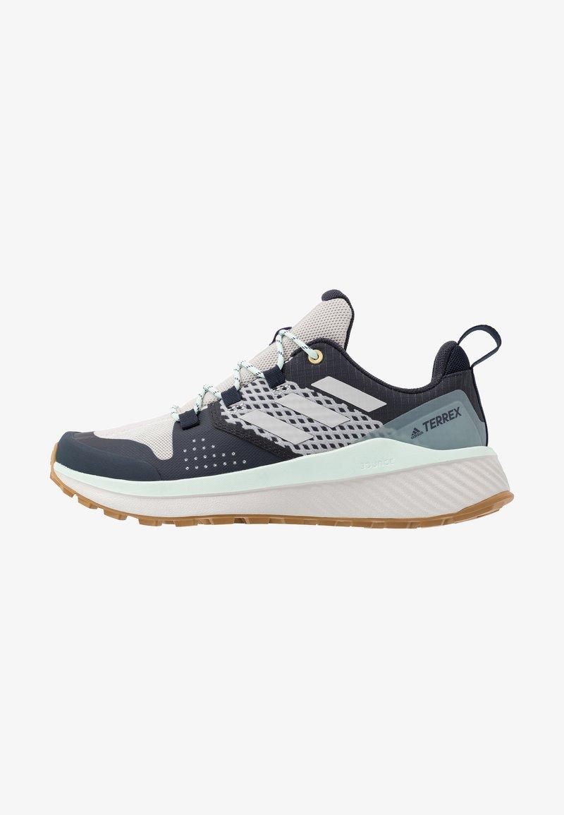 adidas Performance - TERREX FOLGIAN HIKER - Hiking shoes - legend ink/light solid grey/dash green