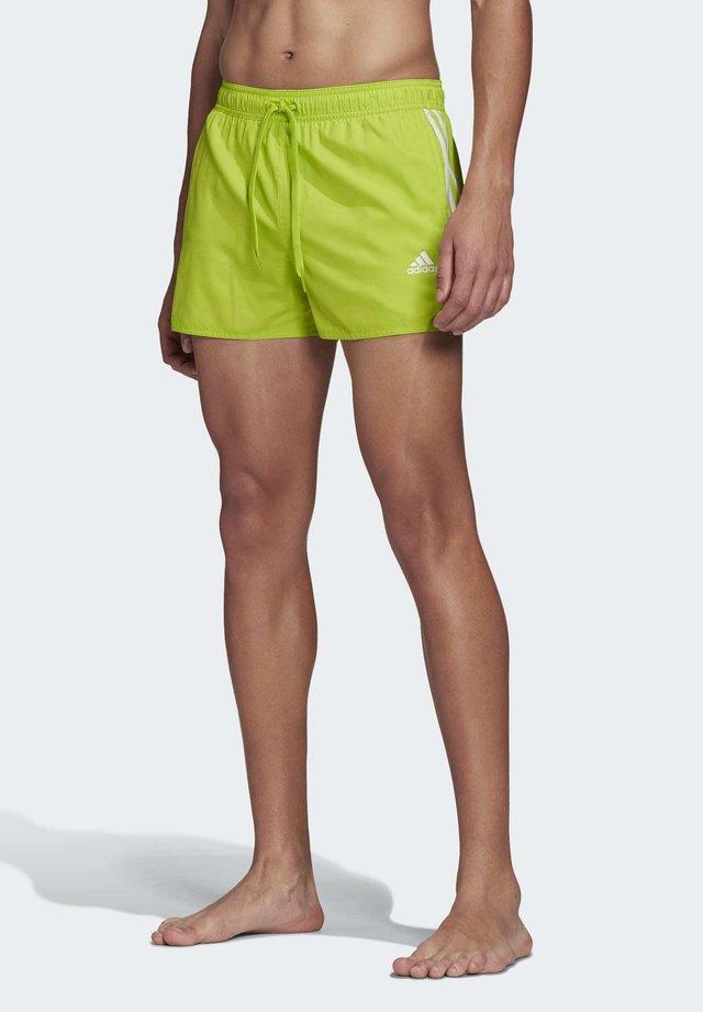 3-STRIPES CLX SWIM SHORTS - Swimming shorts - green
