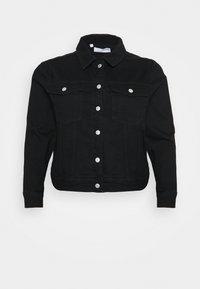 Selected Femme Curve - SLFTENNA JACKET - Denim jacket - black denim - 4