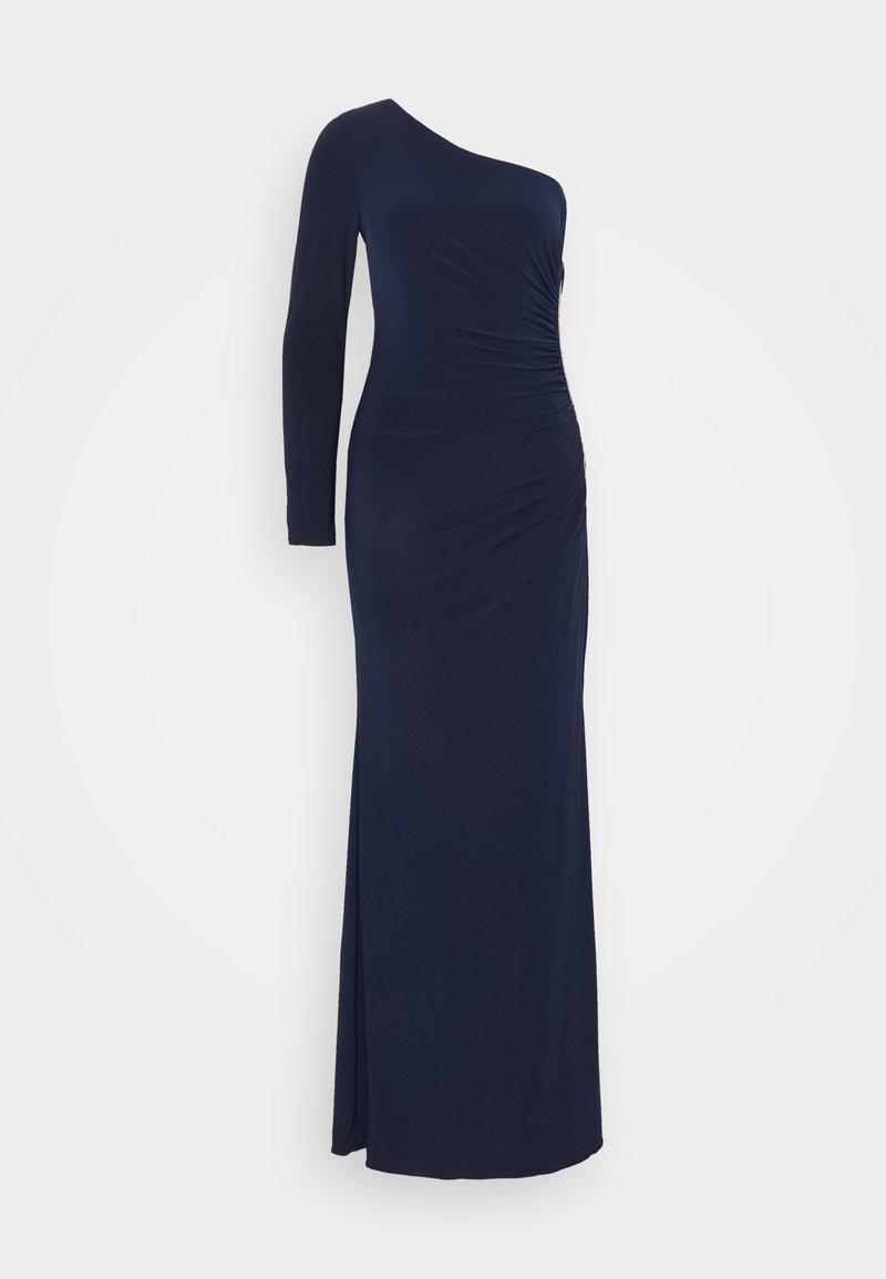 Adrianna Papell - ONE SHOULDER DRESS - Společenské šaty - midnight