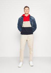 Lacoste - Sweatshirt - red/viennese/navy blue - 1