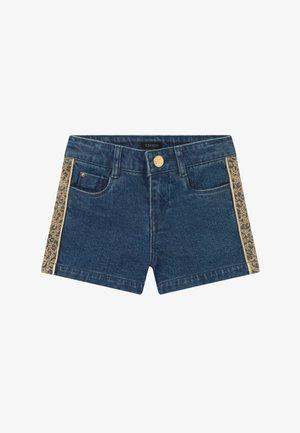 BERMUDA - Denim shorts - stone blue