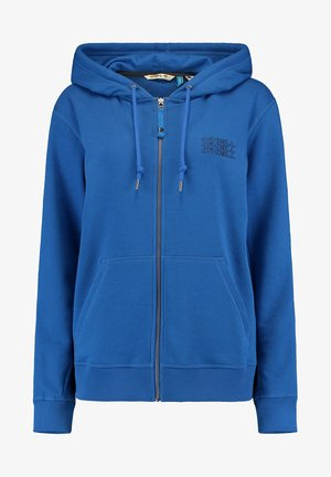 veste en sweat zippée - ocean blue