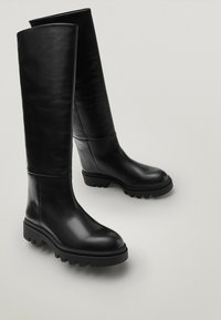 Massimo Dutti - MIT SUPER-PROFILSOHLE - Boots - black - 2
