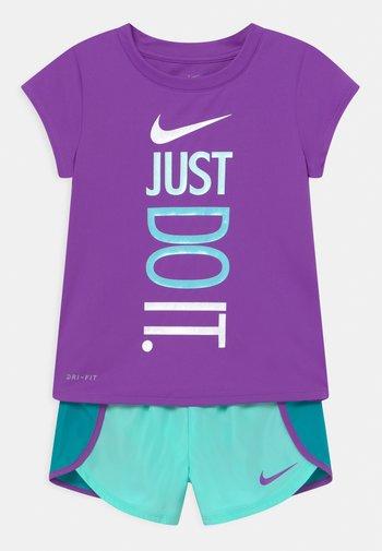 SPRINTER SET - Camiseta estampada - aquamarine