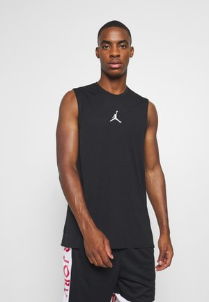 AIR TOP - Sports shirt - black/white