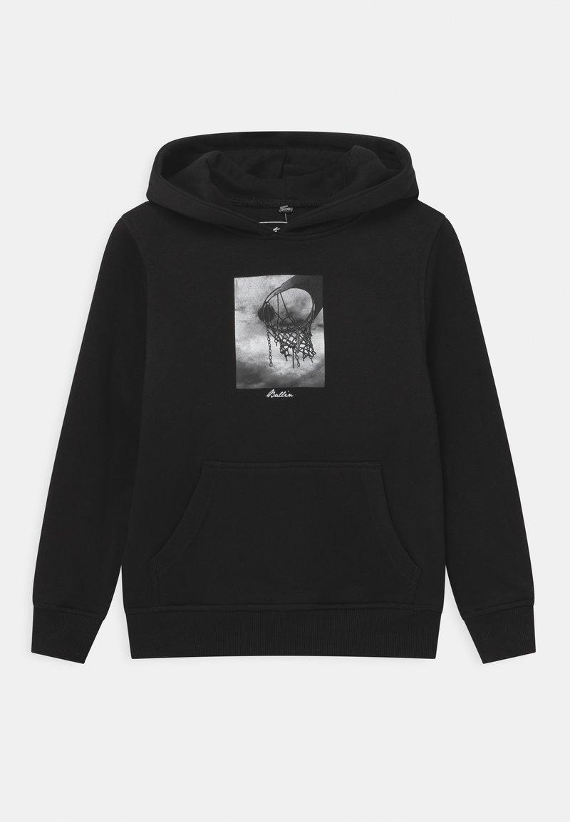 Mister Tee - BALLIN HOODY UNISEX - Sweatshirt - black