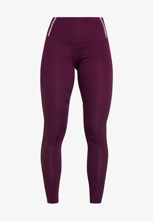 INSERT HIGHWAIST - Leggings - burgundy