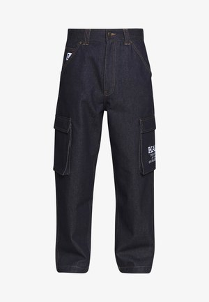 BAGGY - Relaxed fit -farkut - blue
