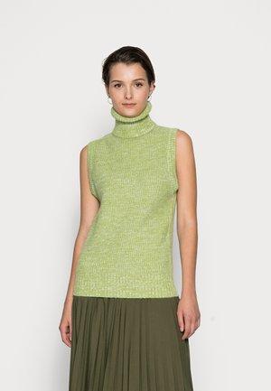 ROLL NECK  - Jersey de punto - green mauve melange
