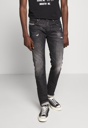 THOMMER-X - Slim fit jeans - black denim