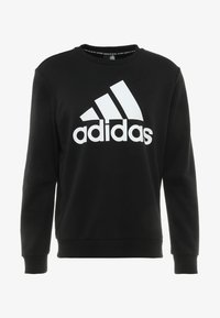 adidas Performance - BOS CREW - Sweatshirt - black/white - 3