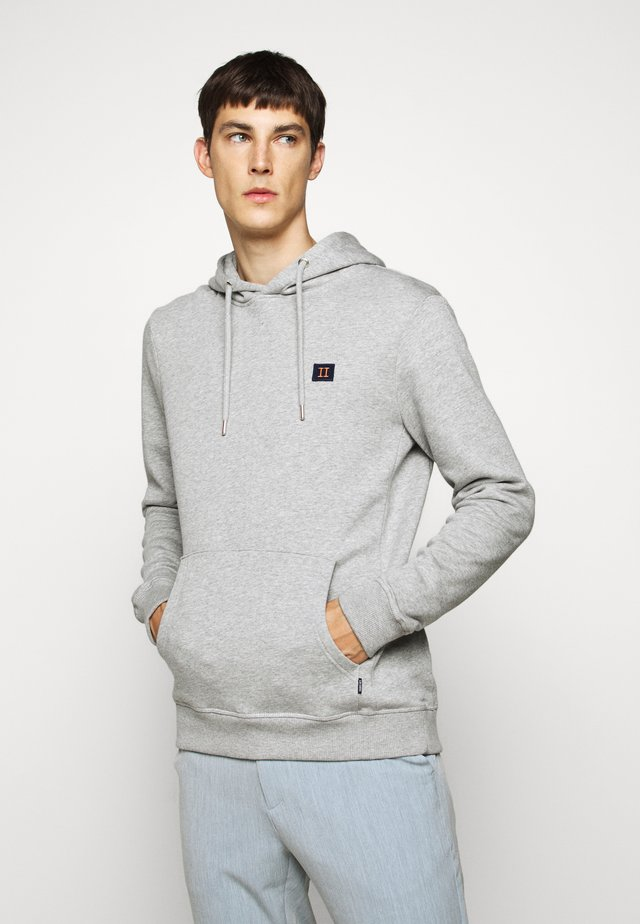PIECE HOODIE - Hoodie - light grey melange