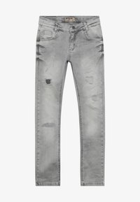 Blue Effect - BOYS HEAVY DESTROYED - Jeans Skinny Fit - medium grey destroyed - 2