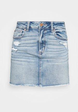 MINI SKIRT - Mini skirt - medium destroy