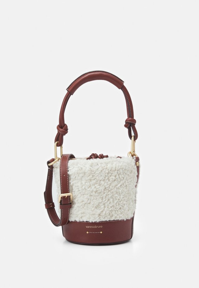 HOLLY MINI SEAU - Borsa a mano - cognac