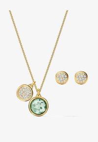 Swarovski - TAHLIA SET - Earrings - green - 0