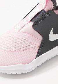 Nike Performance - FLEX RUNNER - Neutral running shoes - pink foam/white/dark grey - 2