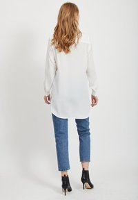 Vila - Button-down blouse - white - 2