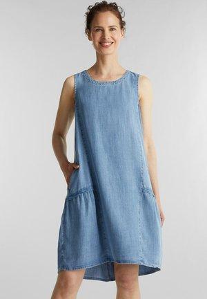 Denim dress - blue light washed