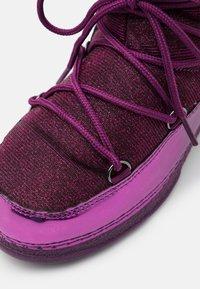KangaROOS - K-MOON - Winter boots - dark berry/frost pink - 5