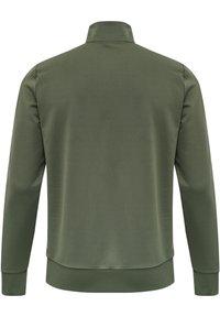 Hummel - NATHAN  - Zip-up sweatshirt - beetle - 1