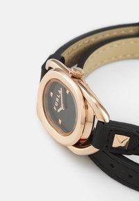Furla - STUDS INDEX - Watch - black/rosegold-coloured - 4