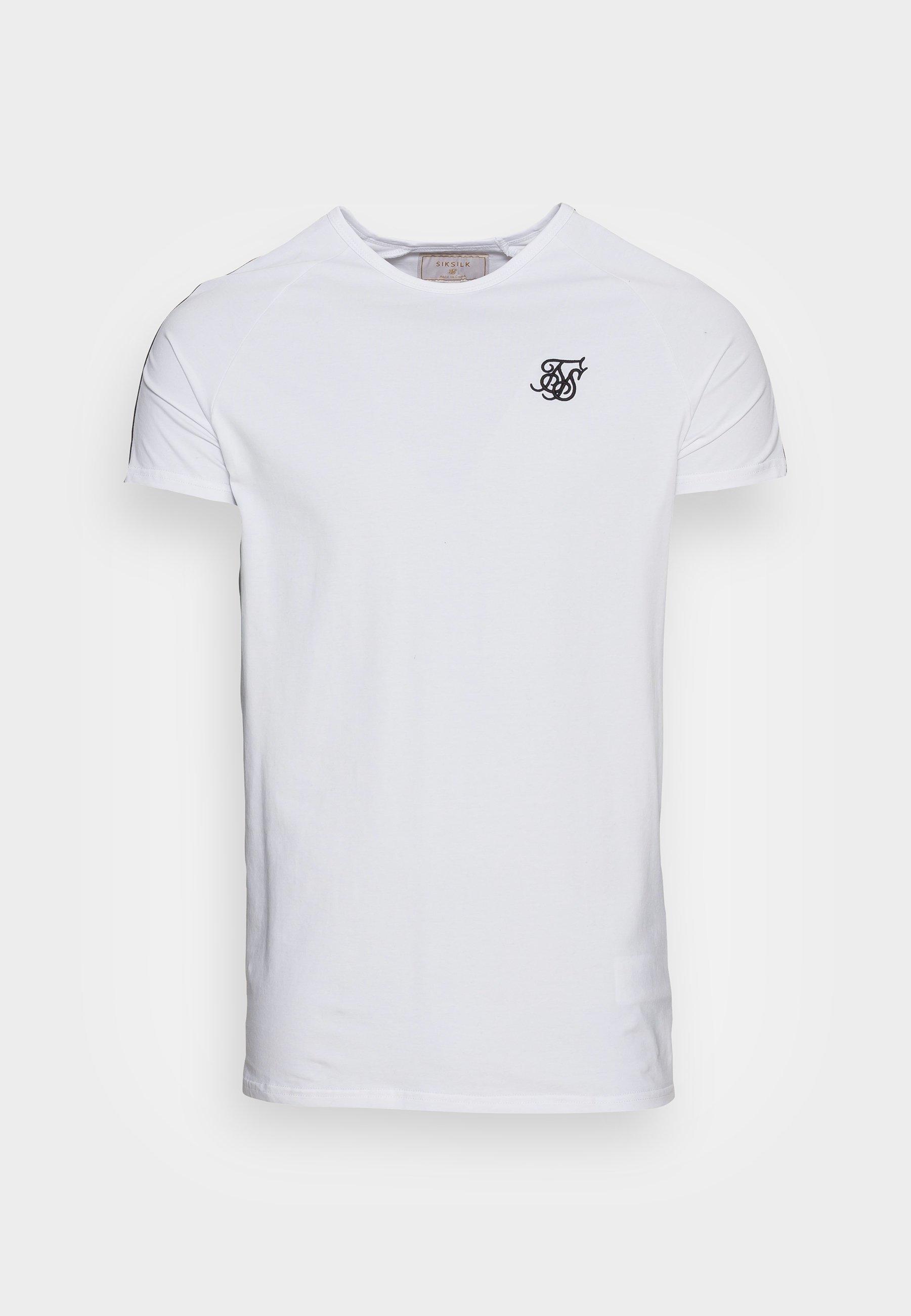 Men STATUS TAPE TEE - Basic T-shirt