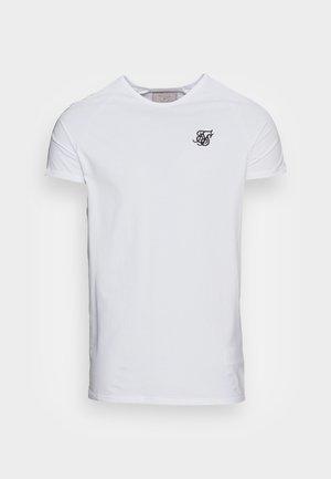 STATUS TAPE TEE - Basic T-shirt - white