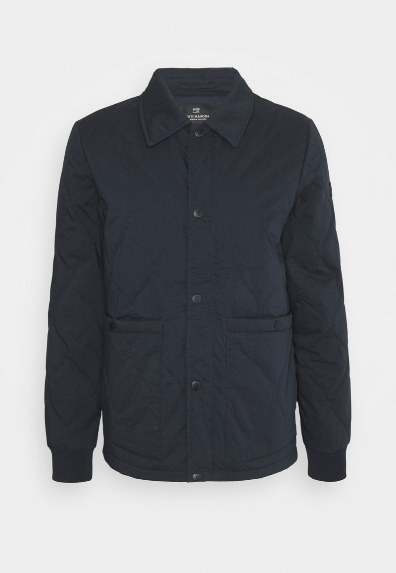 Scotch & Soda - CLASSIC QUILTED JACKET - Light jacket - night