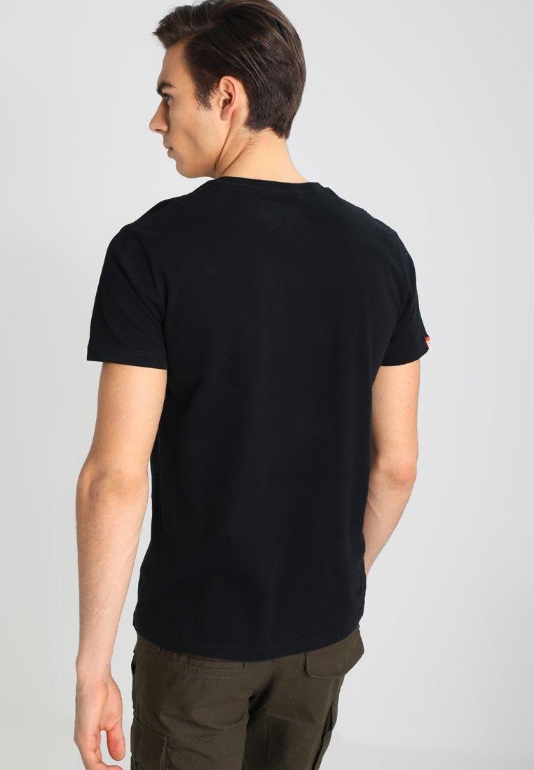Neuf avec étiquettes. Superdry blanc homme Orange Label à manches courtes T-shirt Taille L
