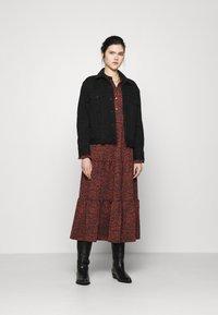 Levi's® - MARION DRESS - Maxi dress - night garden caviar - 1